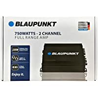 Blaupunkt 750W Max 2 Channel Class AB Stereo Full Range Car Audio Amplifier