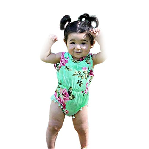 Anboo Mommy And Baby Girl Floral Matching Outfit Maxi Dress Jumpsuit Party Festival Family Clothes (12M, Baby) Matching Mother Baby Clothes