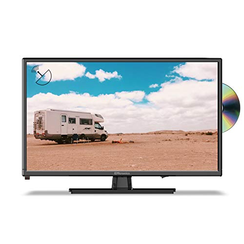 EMtronics 22″ Inch Full HD 1080p TV with DVD Player, Freeview T2 HD, USB PVR and Satellite Tuner
