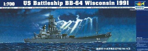Trumpeter  1/700 USS Wisconsin BB64 (Wisconsin Bb)