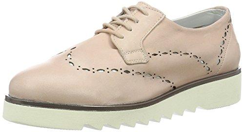 Mujer Daniel Hechter Ros Rosa Derby Cordones de Hj74091 Zapatos para 00qr6