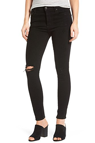 Humanity Of High Rise Citizens (Rocket, High Rise Skinny Jeans in Black Echoes Destroyed (29))