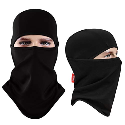Balaclava Aegend Windproof Ski Mask Winter Motorcycle Neck Warmer Tactical Balaclava Hood Polyester Fleece Women Men Youth Snowboard Hat Outdoors Helmet Liner Mask,1 ()