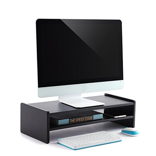 Rfiver Two Shelf Computer Monitor Stand Save Space Monitor S
