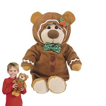 Amazon Com 12 Plush Gingerbread Boy Man Teddy Bear Plush Christmas
