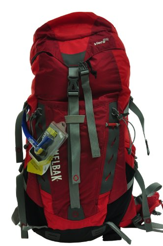 Camelbak Vista 32 S/M 100 oz Hydration Pack, Poppy Red/Tango Red, Outdoor Stuffs