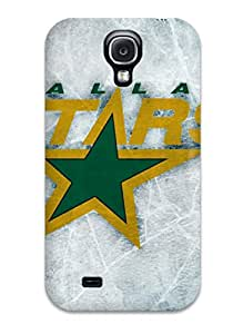 Sanp On Case Cover Protector For Galaxy S4 (dallas Stars Texas (54) )