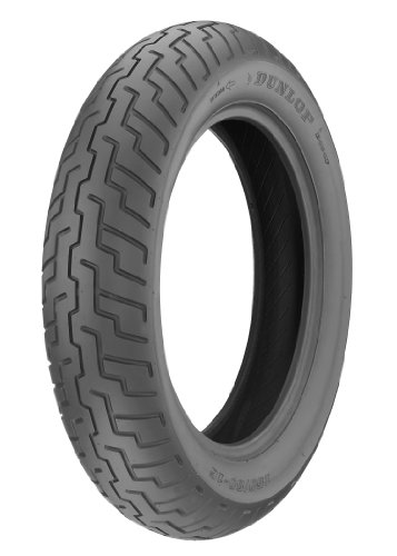 Dunlop D404 Tire - Front - 130/90-16, Speed Rating: H, Tire Type: Street, Tire Construction: Bias, Position: