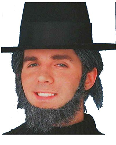 Grey Amish Beard