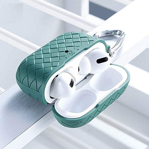Keyzone XUNND Case Compatible for Apple Airpods Pro BV Series, Green
