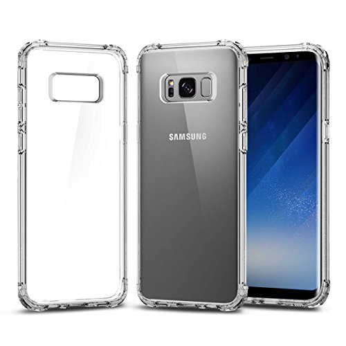 lovetosell123 Galaxy S8 Case Clear,  Ultra Thin Clear Soft T
