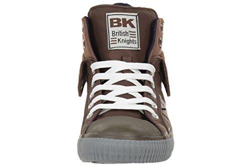 British Knights ROCO BK men trainer Sneaker B34-3742-02 Darkbrown Dunkelbraun