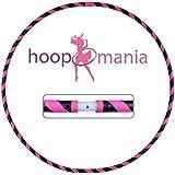 Hoopomania ® Dance Hoop II, Hula Hoop en rosa / negro, 850g