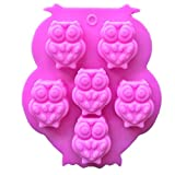 Bath Bomb Molds Amazon Generic Mini Owl Shapes Silicone Chocolate Dessert Soap Crayon Ice Cake Decoration Mold Reusable