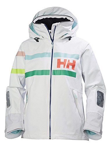 Helly Hansen Women's Salt Power Jacket, White, Medium by Helly Hansen