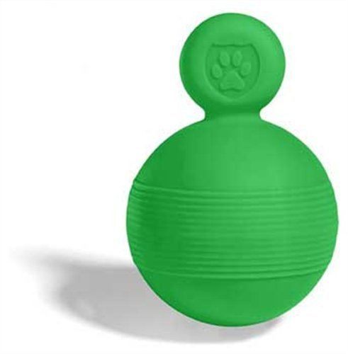 Safe Play Tug and Toss Ball Toy For Dogs, Small, Green, My Pet Supplies