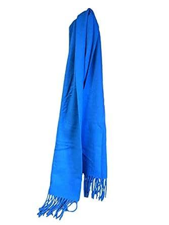 Enzo mantovani ladies wool cashmere scarf teal at amazon for Enzo mantovani
