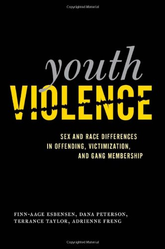 Book cover from Youth Violence: Sex and Race Differences in Offending, Victimization, and Gang Membershipby Finn-Aage Esbensen