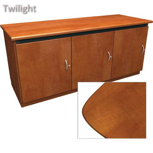 Middle Atlantic Contemporary-Style Finishing Kit for Deep Credenza Rack (Aged - Middle Atlantic Credenza