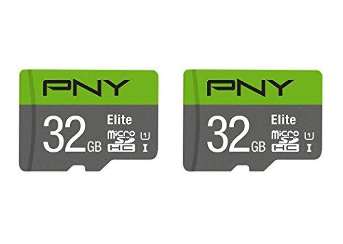 PNY 32GB 2-Pack Elite microSD Card –