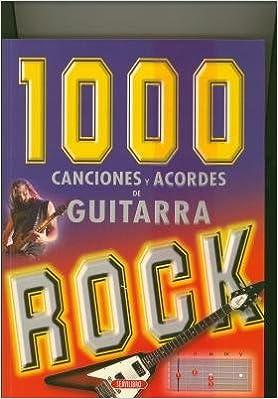 1000 CANCIONES Y ACORDES DE GUITARRA ROCK: Amazon.es: null: Libros