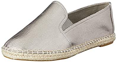 Easy Steps Women's Lilly Loafer Flats, Pewter Fabric/Elastic, 10 AU (40 EU)