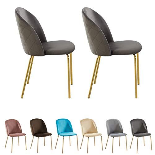 uk Lot de en 2 chaises Bureau Tissu innovareds de pivotantes DH9eWYE2I