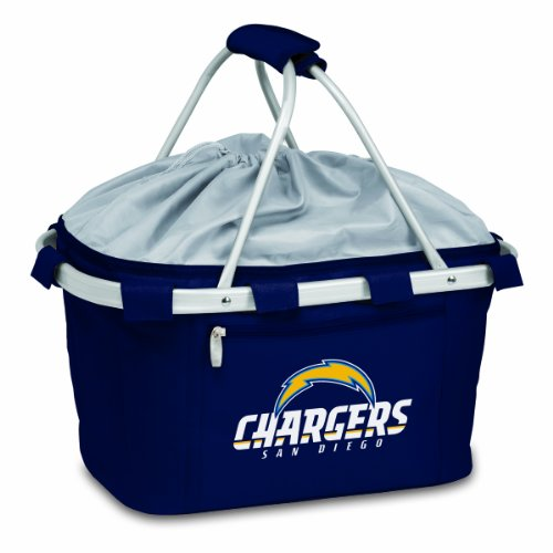 NFL San Diego Chargers Metro Insulated Basket, Navy