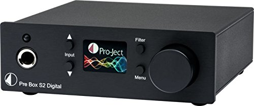 Pro-Ject Pre Box S2 Digital - Black (Audio Gd Dac)