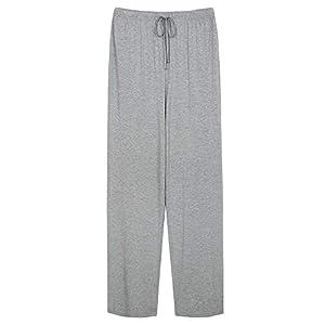 WiWi Mens Bamboo Sleepwear Pants Lounge Pants Pajamas Bottoms S-4X