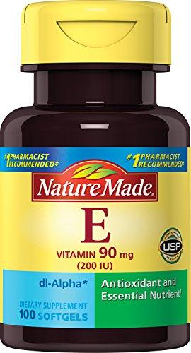 Nature Made Vitamin E 200 IU Softgels, 100 ct