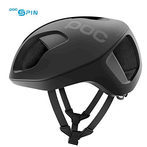 POC Ventral Spin, Cycling Helmet, Uranium Black Matte, L
