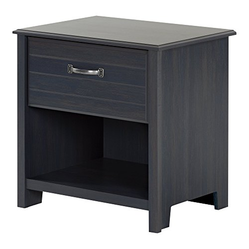 South Shore 1 Drawer Nightstand Blueberry