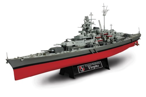 Forces Of Valor 1:700th Scale German Battleship Tirpitz - Normandy 1944 -