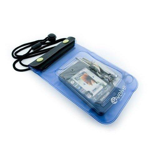 Tuff-Luv Aquatic Pocket Pouch – Funda resistente al agua para reproductor MP3, azul