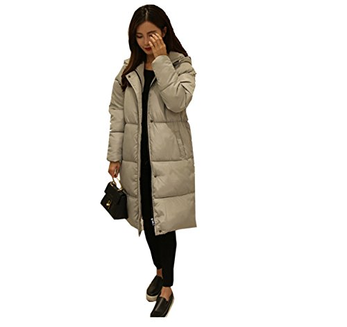 Knees Over C Winter Coat Eiderdown Outwear Cotton Jacket Down Section Clothes Jacket Thicken Student Down nihiug Bread Cotton Long q7PRwU