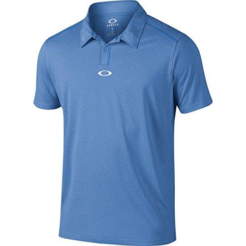 Oakley Men's Roman Polo, Ozone Light Heather, - Oakley Mens Shirts