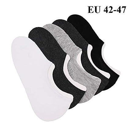Amazon.com: KathShop 3 Pairs Men Summer Cotton Meias Sokken Ankle Boat Calcetines Hombre Low Cut Invisible Men No Show Socks Large Plus Size 45 46 47: ...