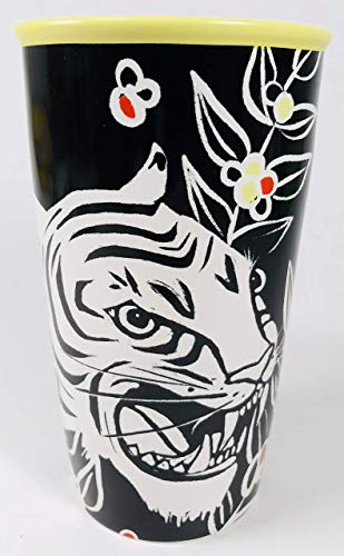 Starbucks Limited Edition Fall White Tiger 2018 Double Walled 12 Oz Tumbler