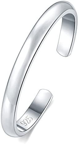 BORUO Sterling Silver Hypoallergenic Adjustable product image