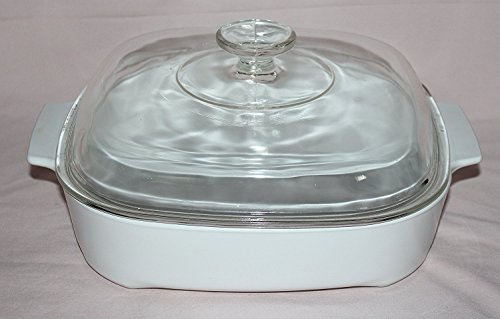 shallow baking dish with lid - 8