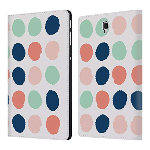 Addison Leather - Official Charlotte Winter Addison Dots Leather Book Wallet Case Cover for Samsung Galaxy Tab S4 10.5 (2018)