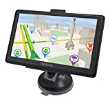 YoJetSing GPS Navigation for Car,Truck GPS 7 Inch HD GPS Navigator, Built-in 256MB+8GB Vehicle Navigation System, Voice Reminding, Free Lifetime Maps(Pre-Installed USA+Canada+Mexico)