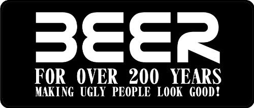 chengdar732 Beer Making Ugly People Look Good Hard Hat Tin Sign Aluminum Metal Sign 8X12 Inches. ()