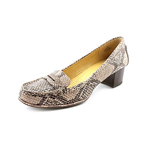 Easy Spirit Maeli Womens Natural Leather Loafers US6 4VuumcVr5Q