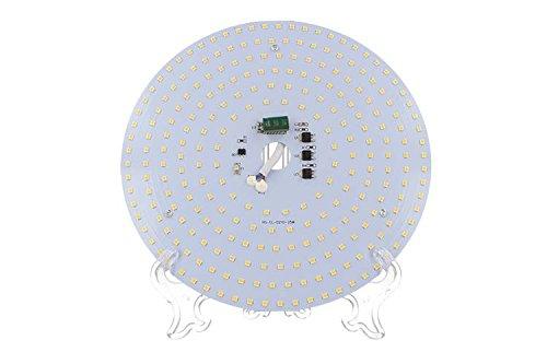 Plafoniere Con Circolina : Led plate 25w piastra bianco caldo 210mm con calamite magnetico