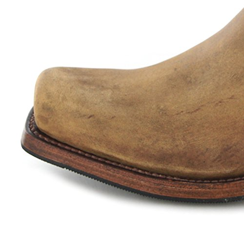 Sendra Boots 8833 - Biker Boots de cuero Unisex adulto marrón - marrón