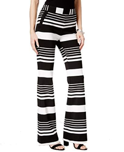 (I.N.C. International Concepts Women's Petite Striped Wide-Leg Pants (Stripes, 6P))