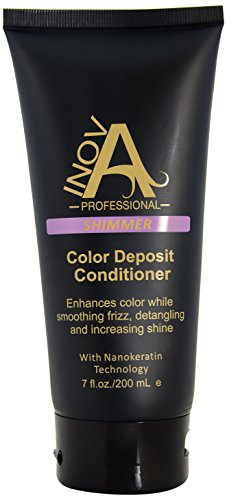 Inova Professional Color Revive & Enhance - Smooth Hydration Conditioner - Color Deposit Shimmer, 7 Fluid ()