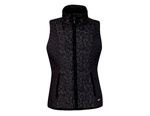 Kerrits Horseplay Quilted Vest Black Size: Extra (Poly Fill Quilted Vest)